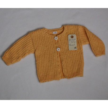 Babytrøje i strik