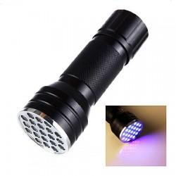 UV Ravlygte med 21 lysdioder