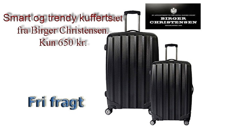 Kuffertsæt sælges